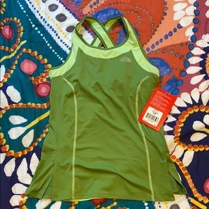 North Face Eco Green Sport Tank - Size M